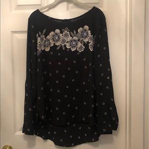 Loft floral blouse L